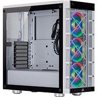 Corsair iCUE 465X RGB Gehärtetes Glas Weiß - PC-Gehäuse
