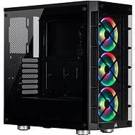 Corsair iCUE 465X RGB Gehärtetes Glas Schwarz - PC-Gehäuse
