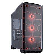 Corsair Crystal Series 570X RGB gehärtetes Glas - Rot - PC-Gehäuse