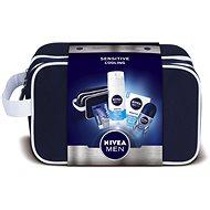 Geschenkset NIVEA Men Cooling + Kulturbeutel für ein kühlendes Gefühl der Erfrischung - Geschenkset