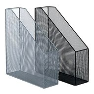 VICTORIA Draht-Ständer für Zeitschriften, Silber - Zeitschriftenständer