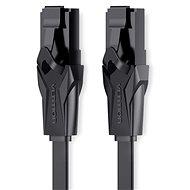 Vention Flat CAT6 UTP Patch Cord Cable 3m schwarz - Netzkabel
