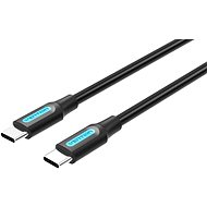 Vention Type-C (USB-C) 2.0 Male to USB-C Male Cable 2M Black PVC Type - Datenkabel