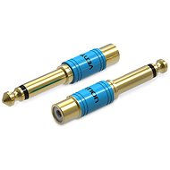 Vention 6.3mm Male Jack to RCA Female Audio Adapter Gold - Adapter