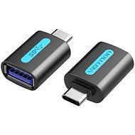 Vention USB-C to USB 3.0 Female OTG Adapter Black PVC Type - Adapter