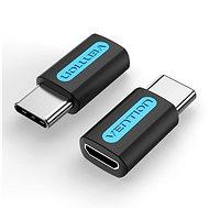 Vention USB-C (M) auf Micro USB 2.0 (F) OTG Adapter Black PVC Type - Adapter