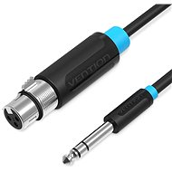Audio Kabel Vention 6.5mm Male to XLR Female Audio Cable 5m Black
