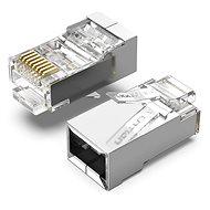 Vention Cat.5E FTP RJ45 Modular Plug Transparent 100 Pack - Konnektor