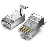 Vention Cat.7 FTP RJ45 Modular Plug Transparent 10er Pack - Konnektor