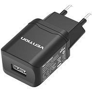 Netzladegerät Vention Smart USB Wall Charger 10.5W Black