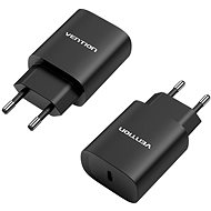 Vention USB-C Wall Charger 20 Watt Black - Netzladegerät