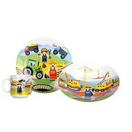 BANQUET 3-teiliges Kinder-Speise-Set The Builders A11674