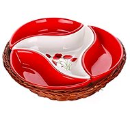 BANQUET RED POPPY 23 cm A00831 - Schüssel-Set