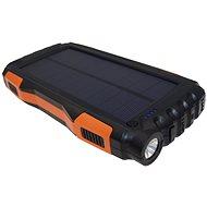 Viking Solare PowerBank B-25 25000mAh Schwarz-Orange - Powerbank