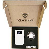 Viking Geschenkset Powerbank GO10 weiß + Speicherkartenleser 4in1 - Powerbank