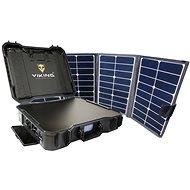 Set Viking Batterie-Generator-Set X-1000 und Solarpanel X80