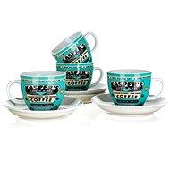 Banquet Tassenset 4-Tlg. COFFEE A11738