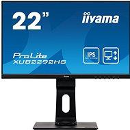 "22"" iiyama XUB2292HS-B1 - LCD Monitor"