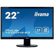 "22"" iiyama ProLite X2283HS-B3 - LCD Monitor"