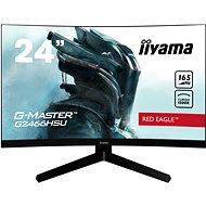 """24"""" iiyama G-Master G2466HSU-B1 - LCD Monitor"""