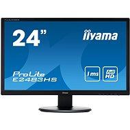 "24"" iiyama Prolite E2483HS-B3 - LED Monitor"