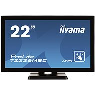 "21.5"" iiyama ProLite T2236MSC MultiTouch - LCD Touch Screen Monitor"