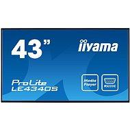 "43"" iiyama ProLite LE4340S-B1 - Großformat-Display"