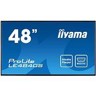 "47"" iiyama ProLite LE4840S-B1 - Großformat-Display"