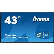"""43"""" Iiyama LE4340UHS-B1 - Großformat-Display"""
