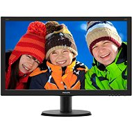 "24"" Philips 240V5QDSB - LED Monitor"