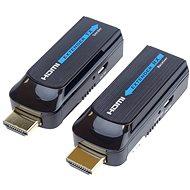 PremiumCord HDMI FULL HD-Extender in 50 m Entfernung über ein Cat6-Kabel - Extender