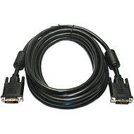 ROLINE DVI-Kabel Dual Link DVI-D M 10 m - Schwarz - Videokabel