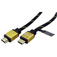 ROLINE HDMI Gold High Speed mit Ethernet (HDMI M <-> HDMI M), vergoldete Anschlüsse, 10m