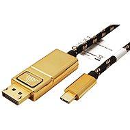 Roline GOLD USB-Kabel C (M) -> DisplayPort (M), 4K @ 60 Hz, 2 m - Videokabel