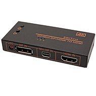 OEM Schalter HDMI / miniDP / DP -> HDMI, 3:1 - Switch