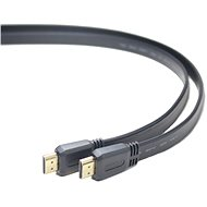 PremiumCord High-Speed ??HDMI-Kabel 1m flach - Videokabel