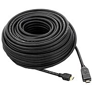 PremiumCord HDMI High Speed mit 4K Unterstützung und Ethernet-Verbindung 15 m schwarz - Videokabel