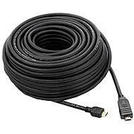PremiumCord HDMI High Speed ??mit Ethernet-Verbindung 25 m schwarz - Videokabel