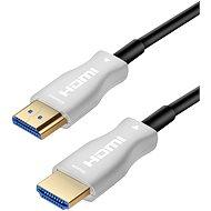 Videokabel PremiumCord HDMI, optisches High Speed Fiber-Kabel mit Ether. 4K@60Hz 10m, M/M, vergoldete Stecker