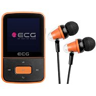 MP4 Player ECG PMP 30 8 Gigabyte Black & Orange - MP4 přehrávač