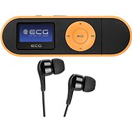 MP3 Player ECG PMP 20 4GB Schwarz & Orange - MP3 přehrávač