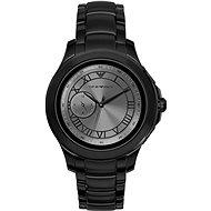 Emporio Armani Alberto Stainless Steel Black - Smartwatch
