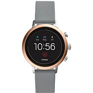 Fossil Venture HR Gray Silicone - Smartwatch