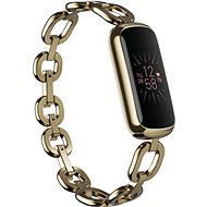 Fitbit Luxe Special Edition Gorjana Jewellery Band - Soft Gold/Peony - Fitness-Armband