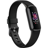 Fitbit Luxe - Black/Graphite Stainless Steel - Fitness-Armband
