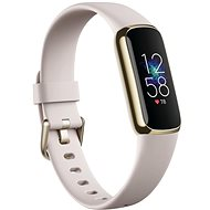 Fitbit Luxe - Lunar White/Soft Gold Stainless Steel - Fitness-Armband
