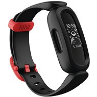 Fitbit Ace 3 Black/Racer Red - Fitness-Armband