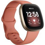 Fitbit Versa 3 - Pink Clay/Soft Gold Aluminum - Smartwatch