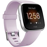 Fitbit Versa Lite - Lilac/Silver Aluminum - Smartwatch