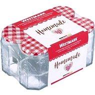 Westmark Quadratische Gläser 288 ml, 6 Stück - Glas-Set